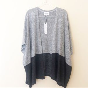 NWT OLIVIA & OAK COLOR BLOCK CARDIGAN